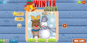 Hra - Winter Jigsaw