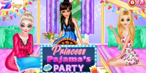 Hra - Princess Pajama Party Sleepover