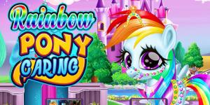 Hra - Rainbow Pony Caring