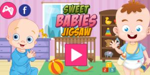 Hra - Sweet Babies Jigsaw