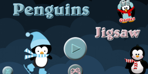 Hra - Penguins Jigsaw