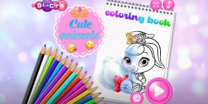 Hra - Cute Animals Coloring Book