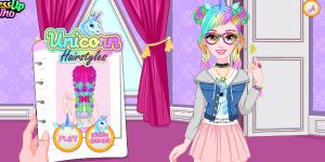Hra - Unicorn Hairstyles
