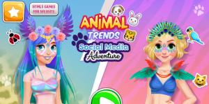 Animal Trends Social Media Adventure