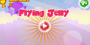 Hra - Flying Jelly