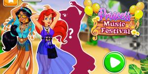 Hra - Princess Music Festival