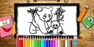 Hra - BTS Panda Coloring
