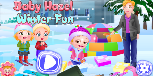 Hra - Baby Hazel Winter Fun Html5