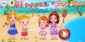Hra - Baby Hazel Beach Party Html5