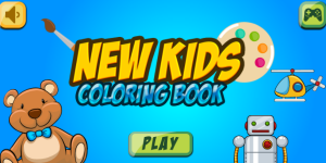 Hra - New Kids Coloring Book