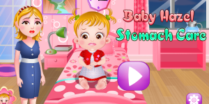 Hra - Baby Hazel Stomach Care Html5