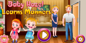 Hra - Baby Hazel Learns Manners Html5