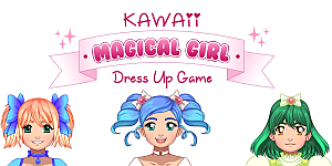 Kawaii Magical Girl Dress Up