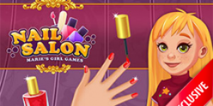 Hra - Nail Salon - Marie's Girl Games