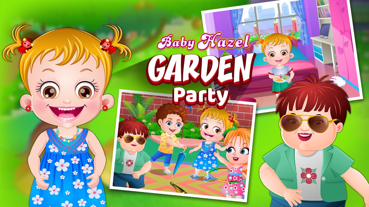 Hra - Baby Hazel Garden Party