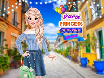 Hra - Paris Princess Shopping Spree