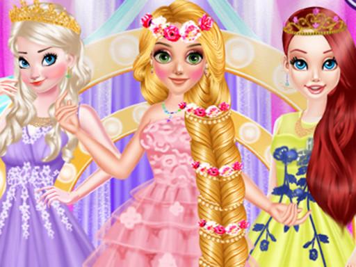 Long hair Princess Prom