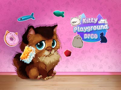 Hra - Kitty Playground Deco
