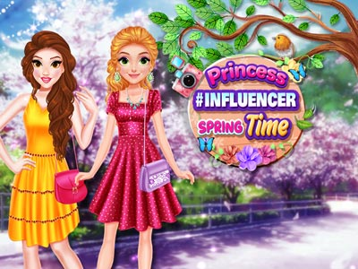 Hra - Princess #Influencer SpringTime