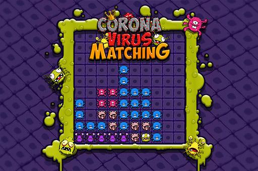 Hra - Corona Virus Matchnig