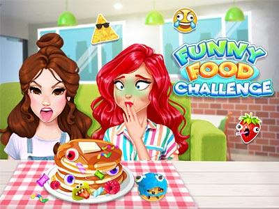 Hra - Funny Food Challenge
