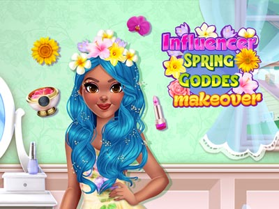 Influencer Spring Goddess Makeover