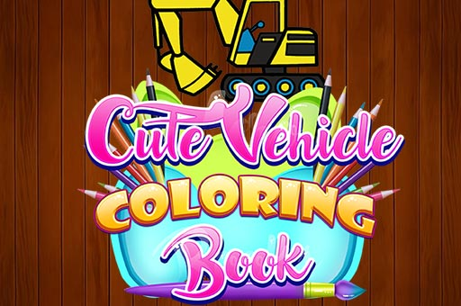 Hra - Cute Vehicle Coloring Book