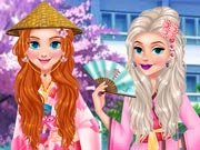 Hra - Princess Girls Trip to Japan