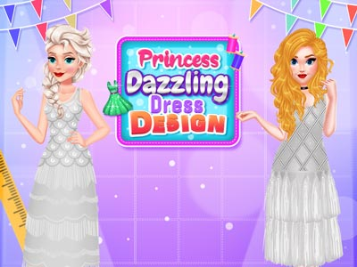 Hra - Princess Dazzling Dress Design