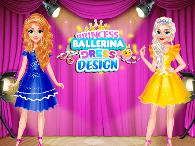 Hra - Princess Ballerina Dress Design