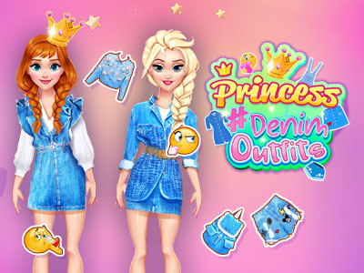 Hra - Princesses Cool #Demin Outfits