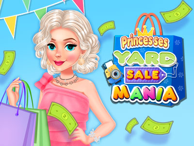 Hra - Princesses Yard Sale Mania