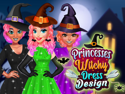 Hra - Princesses Witchy Dress Design