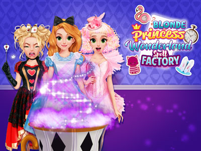 Hra - Blonde Princess Wonderland Spell Factory