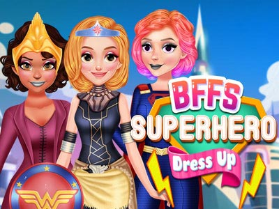 BFFs Superhero Dress Up