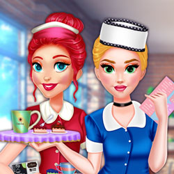 Hra - Princess Cafe Barista Outfits