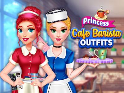 Hra - Princess Cafe Barista Outfits