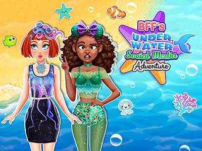 Hra - BFFs Underwater Social Media Adventure