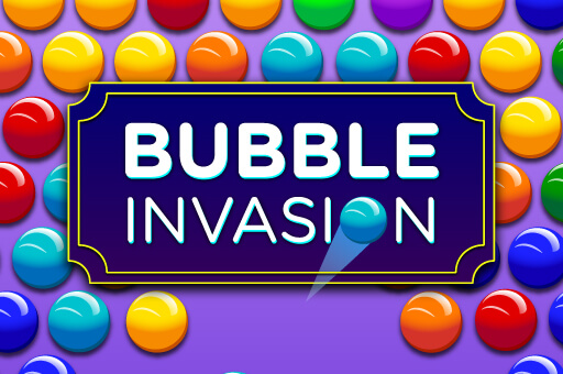 Hra - Bubble invasion