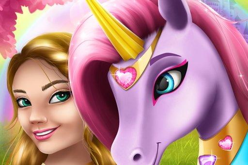 Unicorn Fashion dress up girls