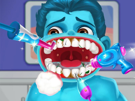 Hra - Superhero Dentist