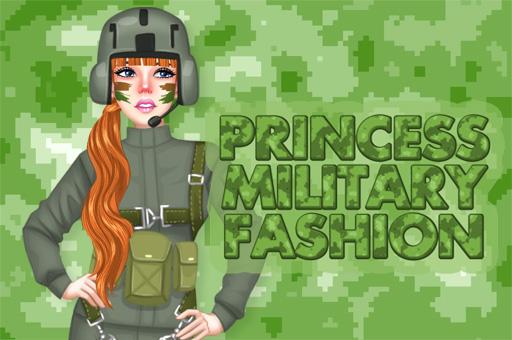 Hra - Princess Military Fashion