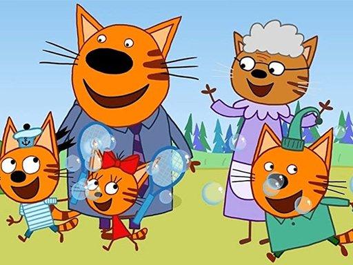 Hra - Cat Family Educational Games