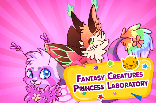 Hra - Fantasy Creatures Princess Laboratory