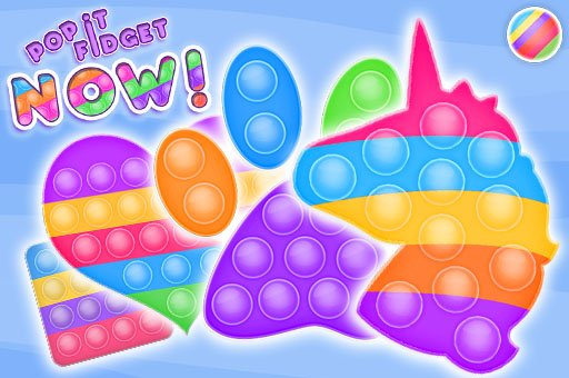 Hra - Pop It Fidget NOW!