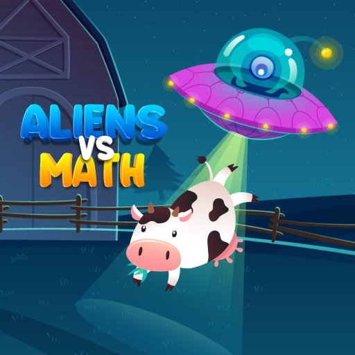 Hra - Aliens Vs Math