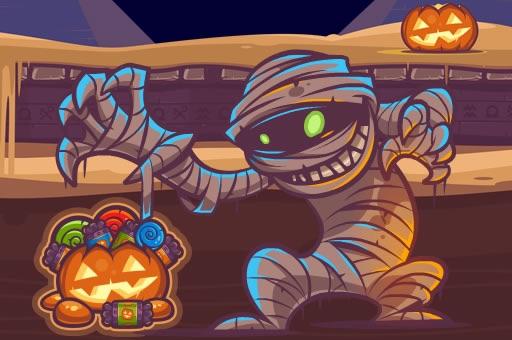 Hra - Mummy Candies - Halloween Scary Edition